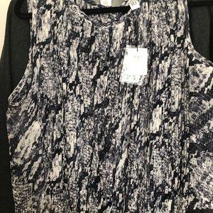Calvin Klein tank blouse
